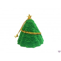 Karácsonyfa ékszer doboz