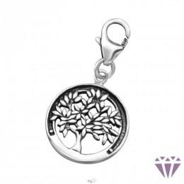 Életfa ezüst amulett
