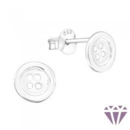 Stift gyerek ezüst fülbevaló - A4S6829