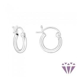 Gyerek ezüst karika fülbevaló - A4S7028