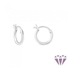 Gyerek ezüst karika fülbevaló - A4S18216