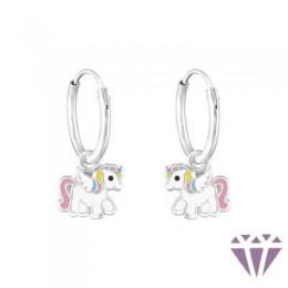 Gyerek ezüst karika fülbevaló - A4S38310