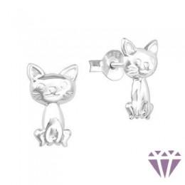 Stift gyerek ezüst fülbevaló - A4S38469