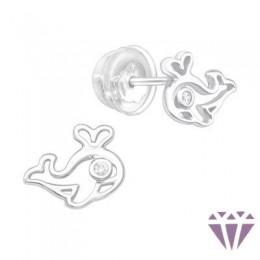 Gyerek prémium ezüst fülbevaló - A4S38826