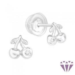 Gyerek prémium ezüst fülbevaló - A4S40046