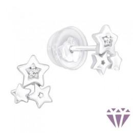 Gyerek prémium ezüst fülbevaló - A4S40079