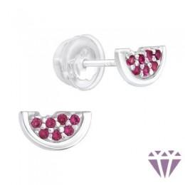 Gyerek prémium ezüst fülbevaló - A4S40095