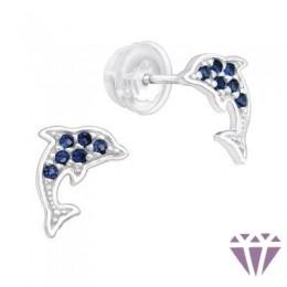 Gyerek prémium ezüst fülbevaló - A4S40096