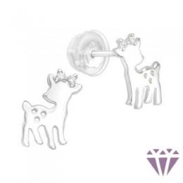 Gyerek prémium ezüst fülbevaló - A4S40101