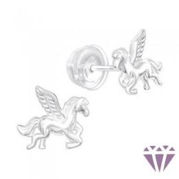 Stift gyerek ezüst fülbevaló - A4S40374