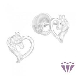 Gyerek prémium ezüst fülbevaló - A4S40375
