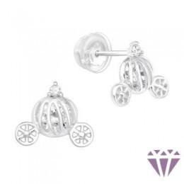Gyerek prémium ezüst fülbevaló - A4S40377