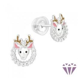 Gyerek prémium ezüst fülbevaló - A4S40393