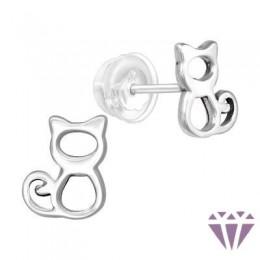 Gyerek prémium ezüst fülbevaló - A4S40400