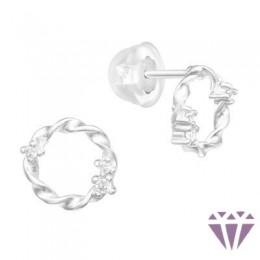Gyerek prémium ezüst fülbevaló - A4S40552