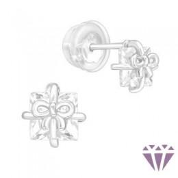 Gyerek prémium ezüst fülbevaló - A4S40555