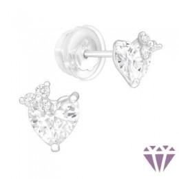 Gyerek prémium ezüst fülbevaló - A4S40556