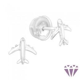 Stift gyerek ezüst fülbevaló - A4S40912