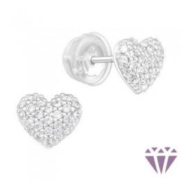 Gyerek prémium ezüst fülbevaló - A4S40913