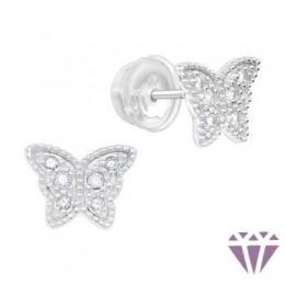 Gyerek prémium ezüst fülbevaló - A4S40914