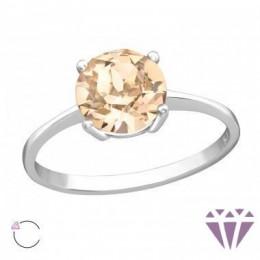 Cirkónia kővel díszített ezüst gyűrű