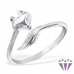 Róka formájú gyűrű
