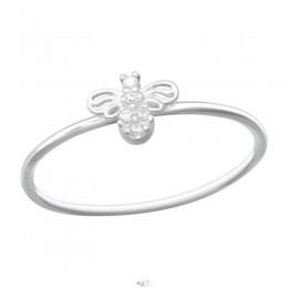 Méh ezüst gyűrű
