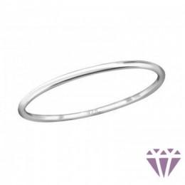 Kő nélküli ezüst gyűrű