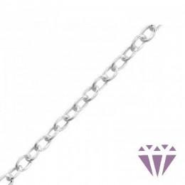 18 cm - KARKÖTŐ lánc, 925 ezüst