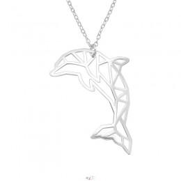 Delfin ezüst nyaklánc