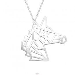 Egyszarvús ezüst nyaklánc
