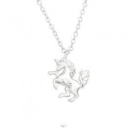 Unikornis ezüst nyaklánc