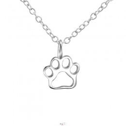 Kutya mancs ezüst nyaklánc