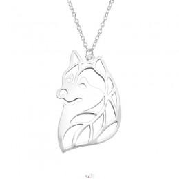 Rókás ezüst nyaklánc