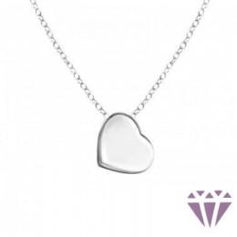 Szív kő nélküli nyaklánc