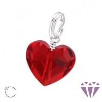 Valentin napi ajándék ékszer, szív medál