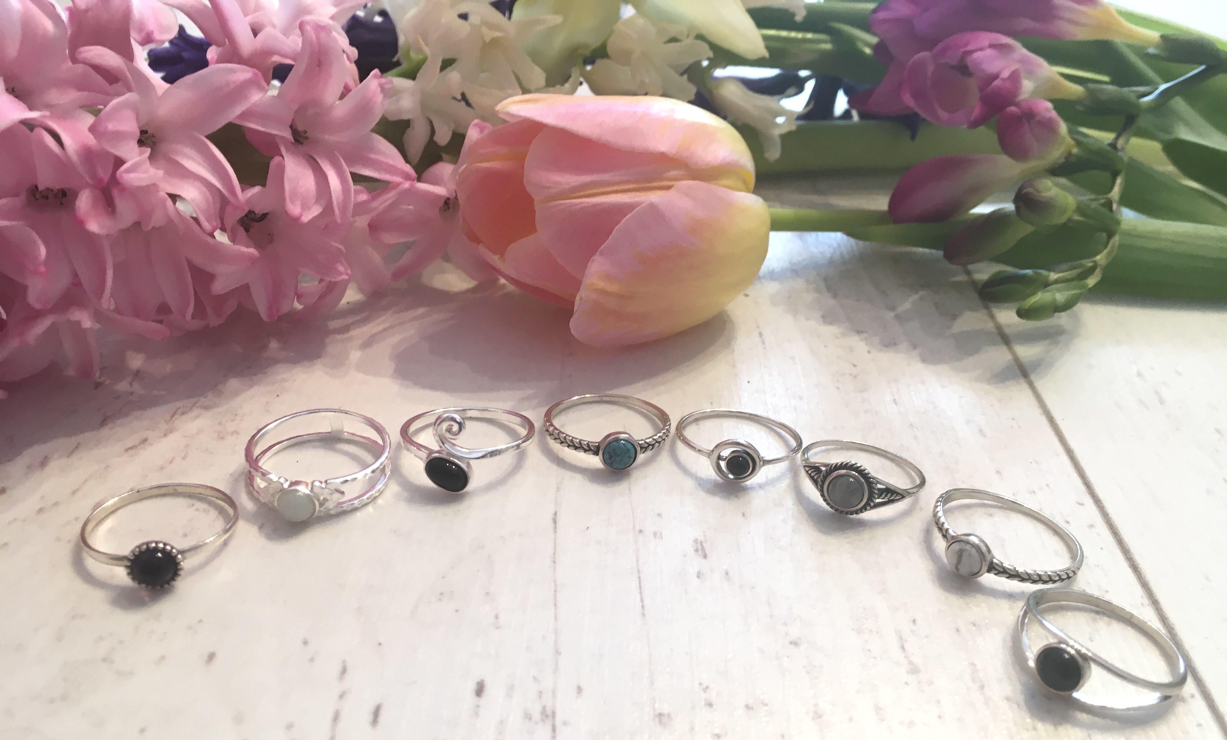 925 ezüst gyűrűk